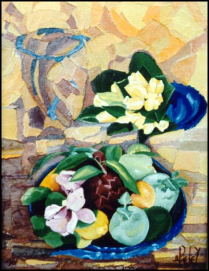 017Nature morte  1996  (huile sur toile 35 x 27 cm)