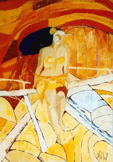 024 MOEMOEA  VAHINE    2000   (hst:  38 x 55 cm)