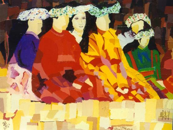 026 HIMENE MAMA    1999  (hst: 50 x 60 cm)