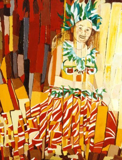 027 PARAHIRAHI TE VAHINE IA OTI TE ORI  1999  (hst:50x60cm)