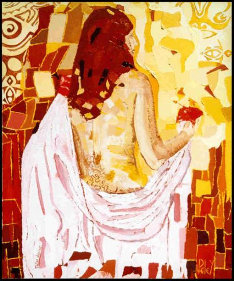 028 TATAU  VAHINE   2000  (hst: 50 x 61 cm)