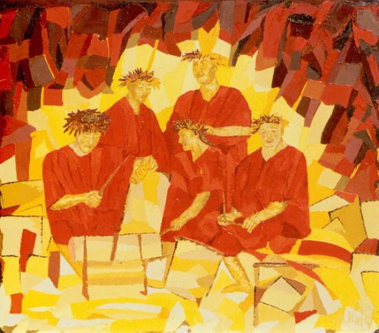 063 PUPU UPAUPA TIIPOTO 2001  (hst:73x63cm)