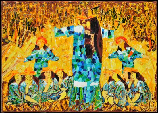 137 HIMENE  ANAU 2009  (hst:71x51cm)